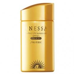 SHISEIDO 資生堂-專櫃 安耐曬-安耐曬黃金水鑽防曬露SPF50+/PA++++
