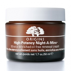 ORIGINS 品木宣言 乳霜-美夢成真夜間高效修護霜(清爽型) High Potency Night-A-Mins Mineral-enriched (oil-free) renewal cream
