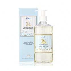 F`ees 法緻 親親寶貝系列-嬰兒柔護洗髮沐浴精(棉花) Gentle Foaming Hair & Body Wash-Cotton