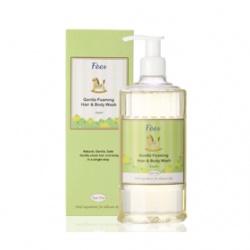 F`ees 法緻 親親寶貝系列-嬰兒柔護洗髮沐浴精(香蘋) Gentle Foaming Hair & Body Wash-Apple
