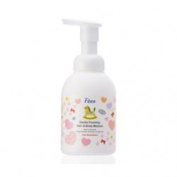 F`ees 法緻 親親寶貝系列-嬰兒洗髮沐浴泡泡(粉紅甜心) Gentle Foaming Hair & Body Mousse –Pink Sweetheart