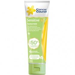 Cancer Council Australia 淨亮曬 防曬系列-SPF50+敏感專用防水防曬乳