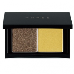 THREE  眼影-魅光眼盒 Pressed Eye Color Palette Duo