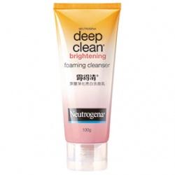 Neutrogena 露得清 深層淨化系列-深層淨化亮白洗面乳