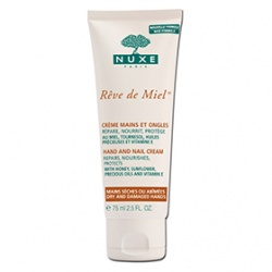 NUXE 黎可詩 蜂蜜舒緩保養系列-蜂蜜手甲修護霜 REVE DE MIEL HAND AND NAIL CREAM