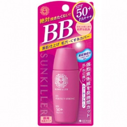 KISS ME 奇士美-開架 Sunkiller 防曬系列-BB光采美肌臉部防曬乳(膚色III)SPF50+/PA+++