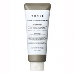 THREE 護髮-舒活護髮霜(活化) THREE SCALP & HAIR CONDITIONER AC