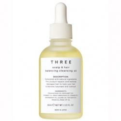 THREE  頭皮護理-平衡頭皮淨化晶油  SCALP & HAIR BALANCING CLEANSING OIL