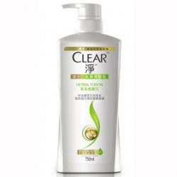 Clear 淨 洗髮-去屑洗髮乳草本抵禦型