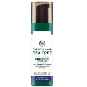 The Body Shop 美體小舖 天然茶樹淨膚完整系列-茶樹淨膚夜間修護乳