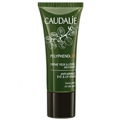 CAUDALIE 歐緹麗 POLYPHENOL C15 葡萄籽多酚C15系列-葡萄籽多酚C15賦活眼唇修護霜  ANTI-WRINKLE EYE AND LIP CREAM