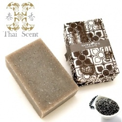 泰國黑米山羊奶手工保養皂 Thai Scent Goat Milk Black Rice Soap