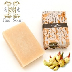 生薑山羊奶手工保養皂 Thai Scent Goat Milk Ginger Soap