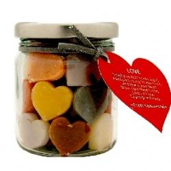 Soap-n-Scent 泰香 造型草本手工皂-草本罐裝造型迷你皂-Love 愛 Thai Scent Soap jar-Love