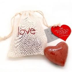 Soap-n-Scent 泰香 造型草本手工皂-草本手工皂傳遞訊息系列-Love愛 Thai Scent Message Bag-Love