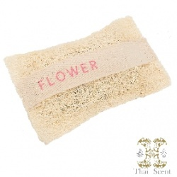 花香絲瓜烙草本手工皂 Thai Scent Flower SOAP-e loofah (white hang bag)