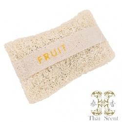 果香絲瓜烙草本手工皂 Thai Scent Fruit SOAP-e loofah (white hang bag)