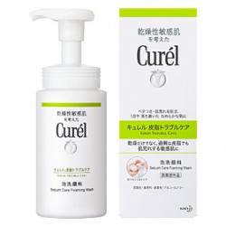 Curel 珂潤 臉部控油保濕屏護系列-控油保濕洗顏慕斯