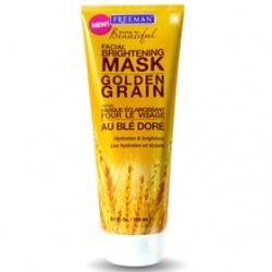FREEMAN  Feeling Beautiful-黃金穀粒煥白淡斑面膜 Golden Grain Facial Brightening Mask