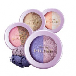 It`s Skin 伊思 眼影-我的女神珠光雙色眼影 Dear my MUSE Duo Eye Shadow