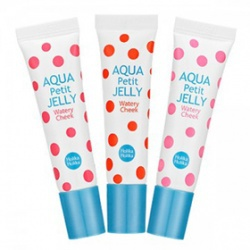 果凍甜心水潤腮紅蜜 aqua petit jelly watery cheek