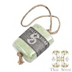 綠藻麻繩手工草本皂 Thai Scent handmilled soap on the soap(Green Seaweed)