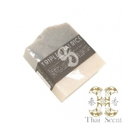 泰式三層香米草本手工皂 Thai Scent Cake Soap(Tripple Thai Rice)