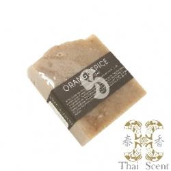 Soap-n-Scent 泰香 草本手工皂-橙香柑橘草本手工皂 Thai Scent Cake Soap(Orange Spice)