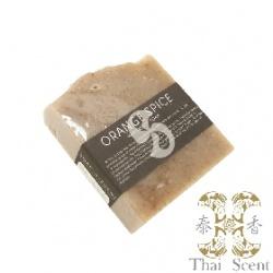 橙香柑橘草本手工皂 Thai Scent Cake Soap(Orange Spice)