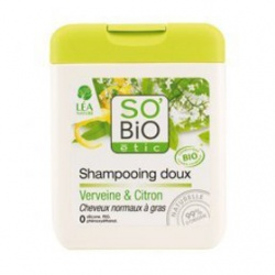 SO'BiO 洗髮-檸檬馬鞭草洗髮精 Gentle shampoo verbena & lemon - Normal to greasy