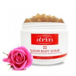 a`rin 身體去角質-身體淨白保濕去角質(粉紅玫瑰) SUGAR BODY SCRU