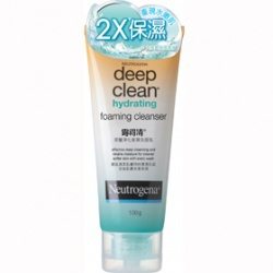 深層淨化保濕洗面乳 deep clean hydrating  foam ing cleanser