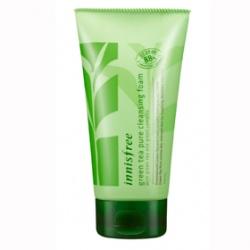 innisfree 洗顏-純淨綠茶保溼潔顏泡泡