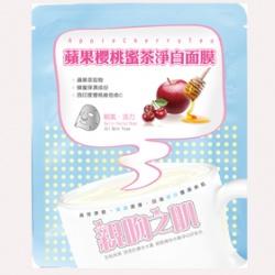 親吻之肌 浪漫午茶系列-蘋果櫻桃蜜茶淨白面膜