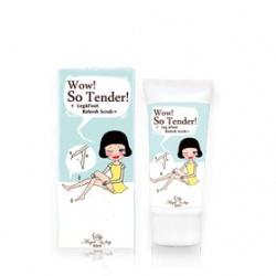 Angel Key 腿‧足保養-玻璃鞋沁涼角質清潔乳