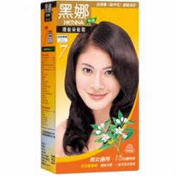 染髮‧燙髮產品-黑娜護髮染髮霜