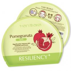 HANAKA 花戀肌 保養面膜-膜法花園植萃精華面膜(紅石榴+Q10)