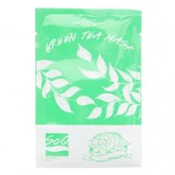 SoQ 保養面膜-綠茶面膜 Green Tea Mask