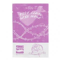 SoQ 保養面膜-玫瑰淨顏整肌面膜 Rose Clean Skin Mask
