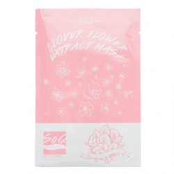 SoQ 面膜-苜蓿花萃取面膜 Clover Flower Extract Mask