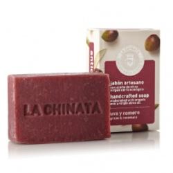 LA CHINATA 希那塔 沐浴清潔-葡萄迷迭香抗氧化手工皂