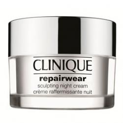 CLINIQUE 倩碧 乳霜-深層活化立體輪廓小臉霜 Repairwear Sculpting Night Cream