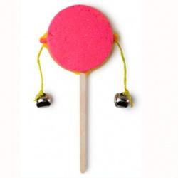粉紅鈴鼓泡泡浴皂 Dummers Drumming