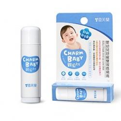 寶寶臉部保養產品-嬰幼兒舒緩雙效唇頰膏 CHARM BABY Baby Cheek And Lip-care Stick