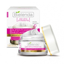 Bielenda 碧爾蘭達 乳霜-逆時光活膚新生抗皺凝霜   Actively Rejuvenating ANTI-AGE Day/Night Cream SKIN CLINIC PROFESSIONAL