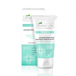 Bielenda 碧爾蘭達 乳霜-專護控油煥膚夜霜(杏仁酸&乳糖酸) PHARM ACNE Antibacterial night cream ANTI ACNE