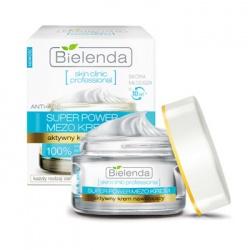 Bielenda 碧爾蘭達 凝膠‧凝凍-水通道倍潤保濕凝霜  Actively Hydrating ANTI-AGE Day/Night Cream 50ml SKIN CLINIC PROFESSIONAL