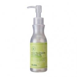 It`s Skin 伊思 臉部清潔卸妝-綠茶舒緩卸妝油 Green Tea Calming Cleansing Oil