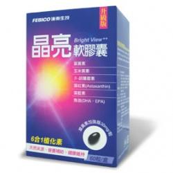 FEBICO 遠東生技 營養補給食品-複方DHA晶亮葉黃素軟膠囊