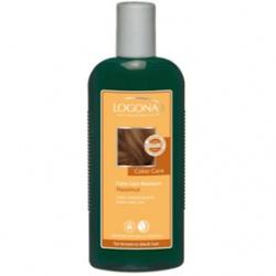 LOGONA 諾格那 植萃髮絲增色系列-榛果光澤護色洗髮精